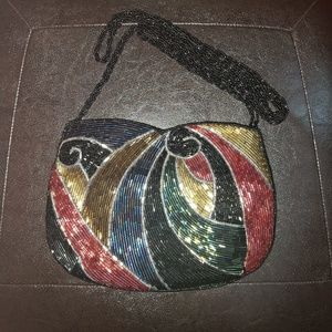 Unique Colorful Vintage Shoulder Bag